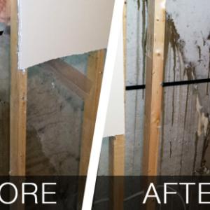 Interior Injection Basement Repairs - Waterproofing Brampton